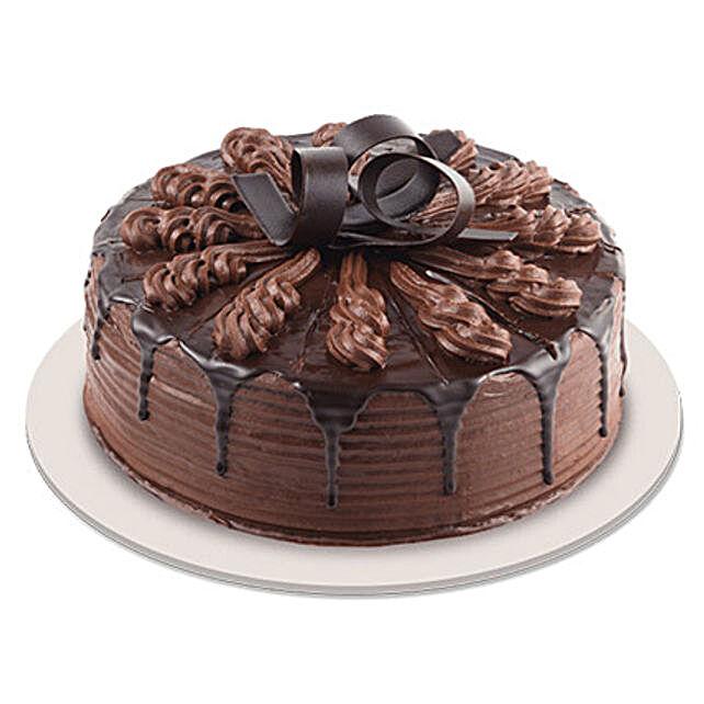 Swanky Chocolate Indulgence Cake half kg