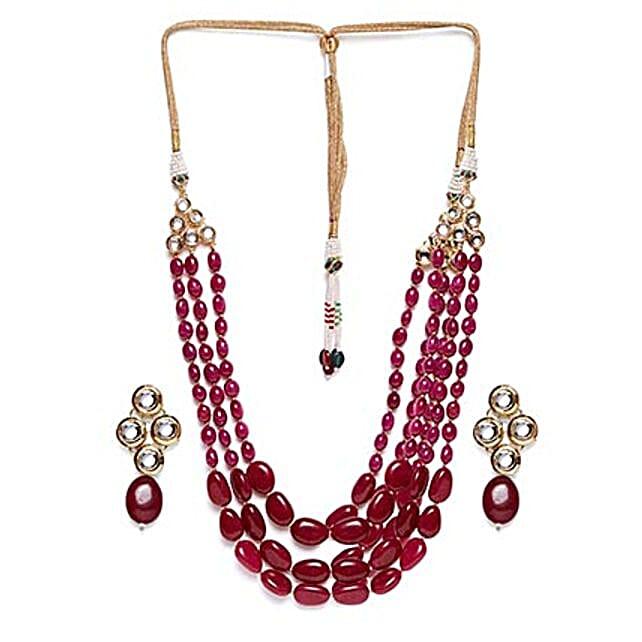 handmade kundan necklace