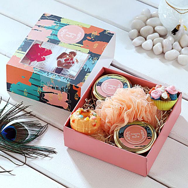 Sweet Bath Essentials Personalised Box