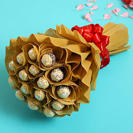 Sweet Ferrero Rocher Bouquet