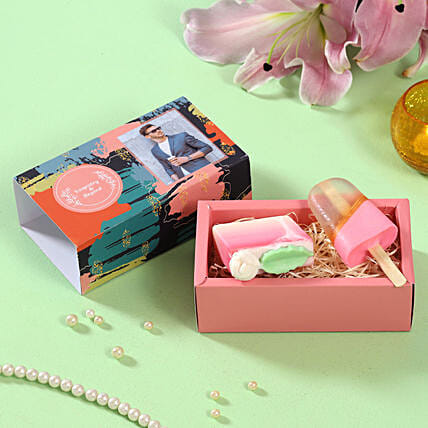Sweet Tooth Soaps Personalised Box:Personalised Soaps