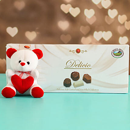 Online Lovely Cocoa Bites With Table Top