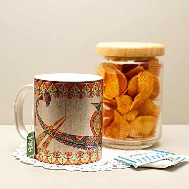 Online Egyptian Silver Mug
