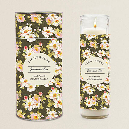 Aroma Tall Jar Candle For Home