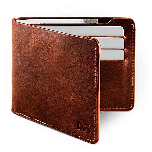 Tan Leather UrbanGentleman Wallet:Send Leather Gifts