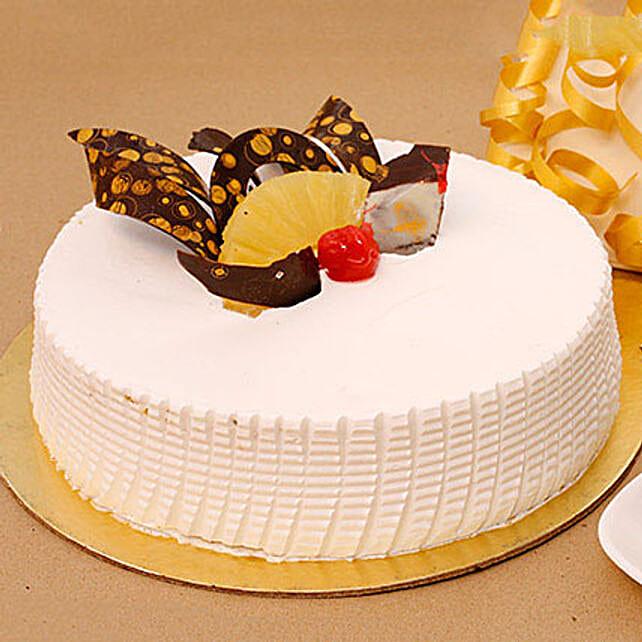 Tangy N Tasty Pineapple Cake Half KG