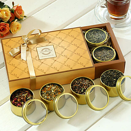 Different Types Tea Hamper:Diwali Gifts to Surat