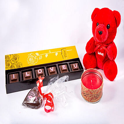 Love combo pack of Chocolates:Send Soft toys to Dehradun