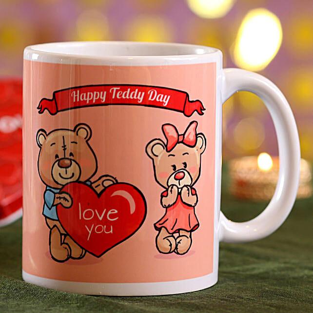 Online Teddy Day Mug
