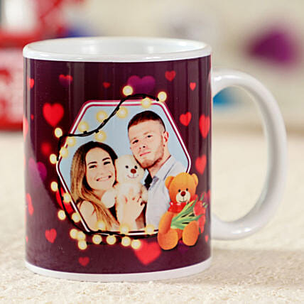 Teddy Day Special Personalised Mug