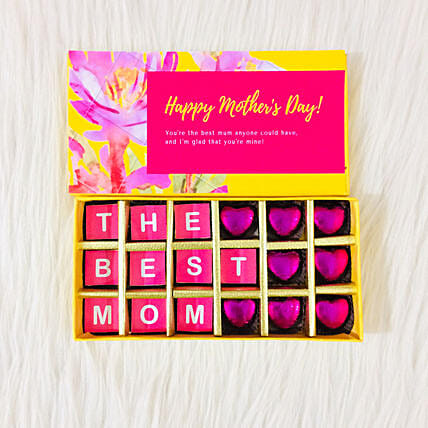Chocolate Gift Box for Mother's Day