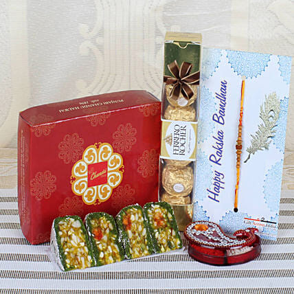 Online Rakhi Hamper For Bhai