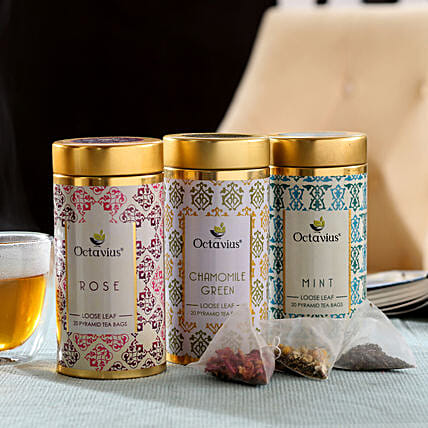 Tea Leaf In Premium Box Online:Tea Gift Hampers