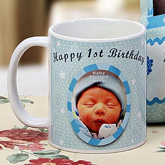 The First Milestone Personalized Mug