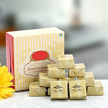 Love for Chocolates-Choco Bite 250gms:Send Sweets for Anniversary