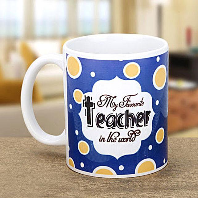 Mug for teacher:Buy Teachers Day Coffee Mug