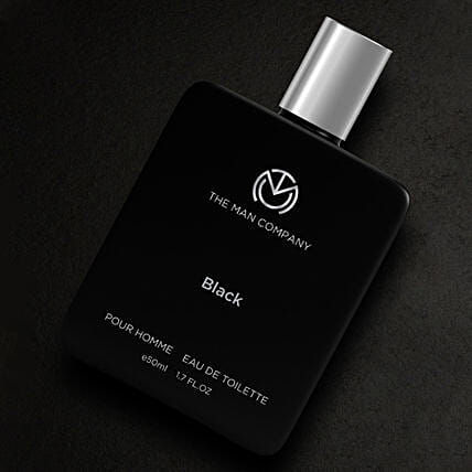 Online The Man Company Black EDT- 50 Ml:Perfumes for Anniversary