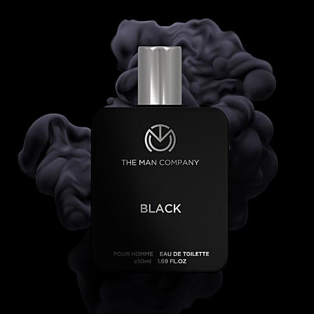 Online The Man Company Black EDT- 50 Ml