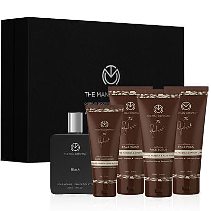 Online The Man Company Caffeine Daily Care Kit:Perfumes for Anniversary