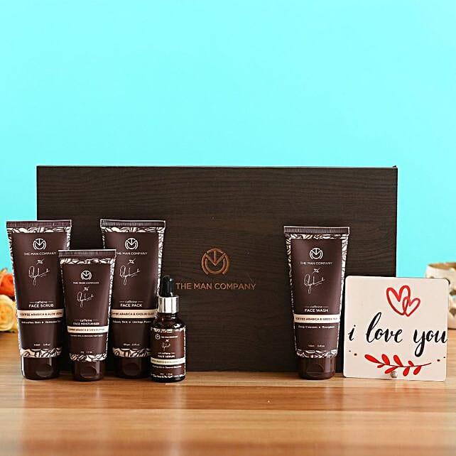 The Man Company Caffeine Gang Kit Love You Table Top