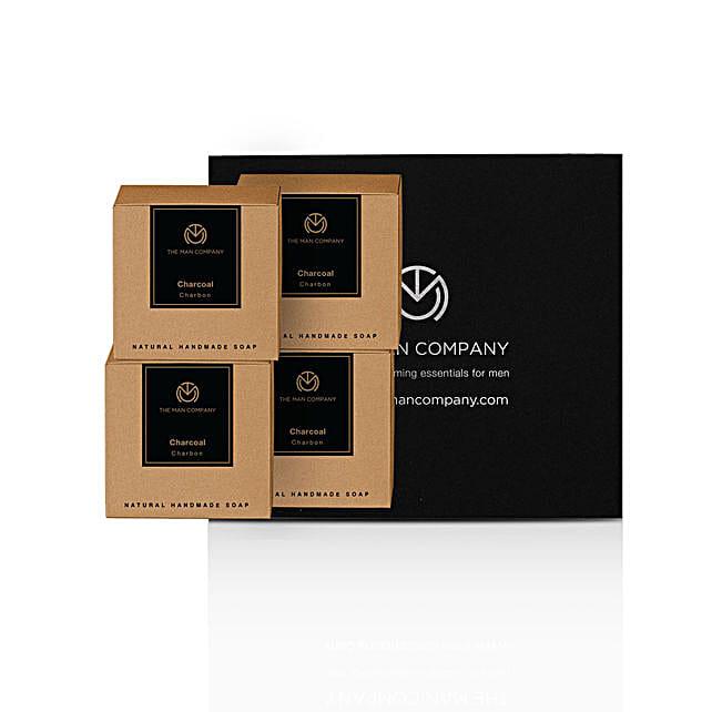 The Man Company Charcoal Soap Bars