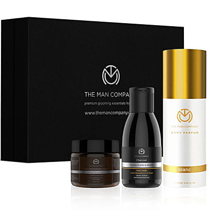 Online The Man Company Classic Daily Care Kit:Perfumes for Anniversary