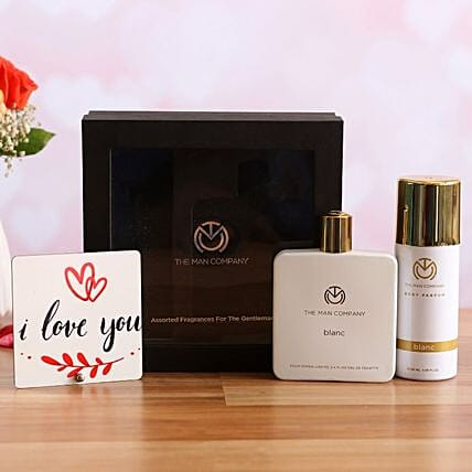 The Man Company Classic Daily Kit Love You Table Top