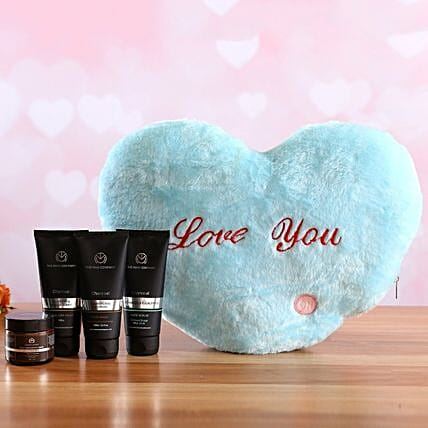 The Man Company Face Care Kit Love You Heart:Shop By Brands