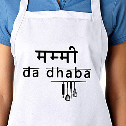 The Perfect Apron-Mummy da dhaba apron:Apparel Gifts