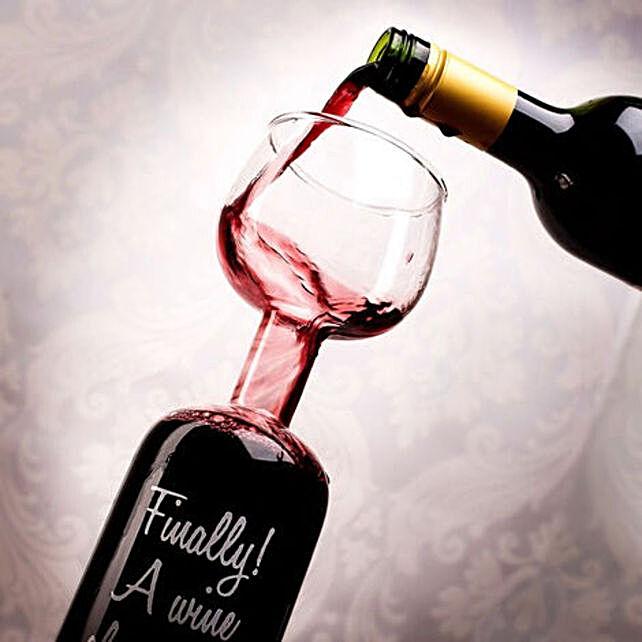 Online The Wine Bottle Glass