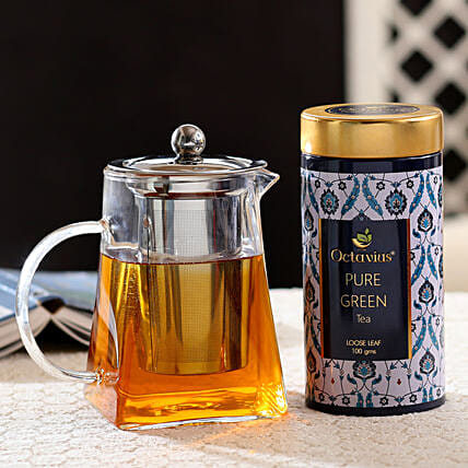 Teapot and Tea Leaf Combo Online