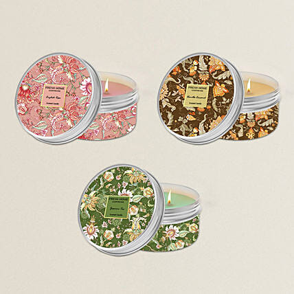 Scented Aromas Candles Set