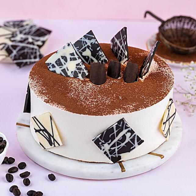 Tiramisu Cake Half kg:Cake Delivery In Thrissur