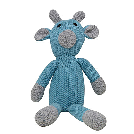 Online Toby Blue Soft Toy