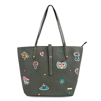 Travel Patches Tote Bag