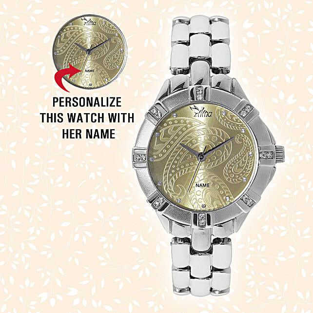 Trendy Personalised Watch