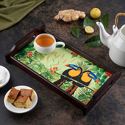 Online Toucan Wooden Tray