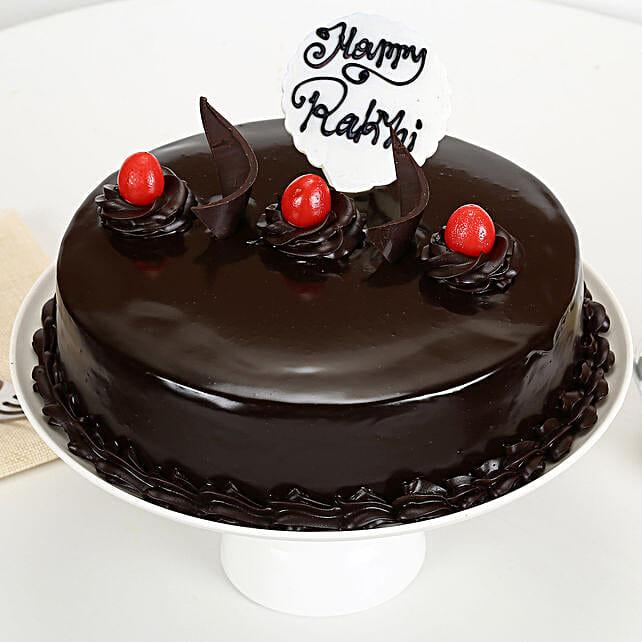 Truffle Cake Rakhi Delight
