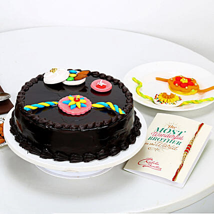 Delicious Cake for Rakhi Online
