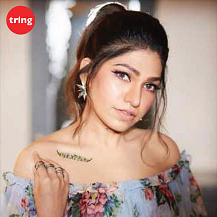 Tulsi Kumar Personalised Recorded Video Message:Singers Video-messages