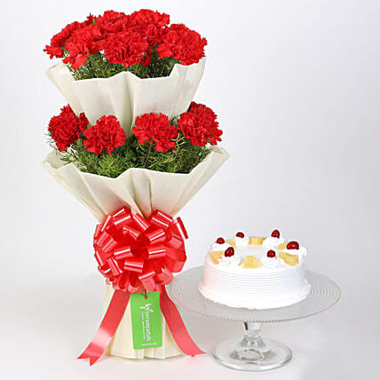 online flower bouquet n cake