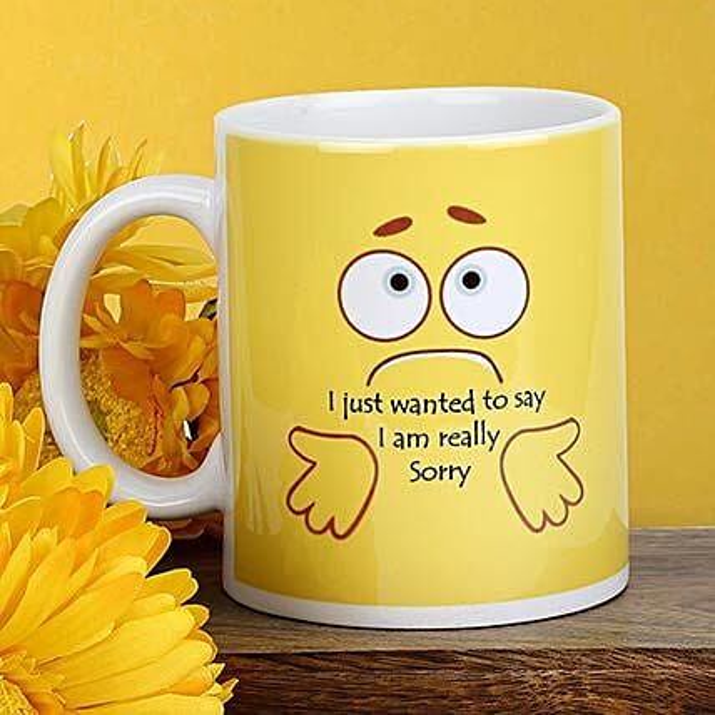 Printed Sorry Mug