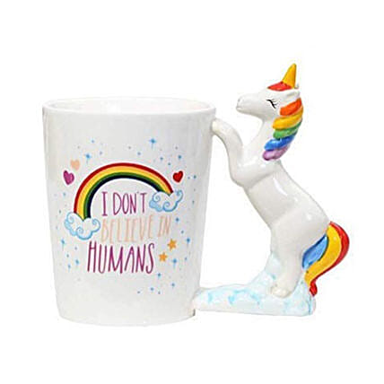 Unicorn Handle 3D Tea Coffee Mug