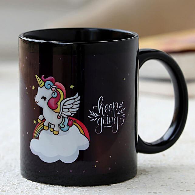 cartoon printed coffee mug
