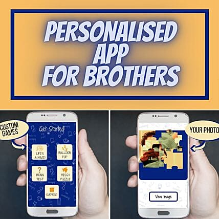 Unlock Rakhi Personalised Game App For Brother
