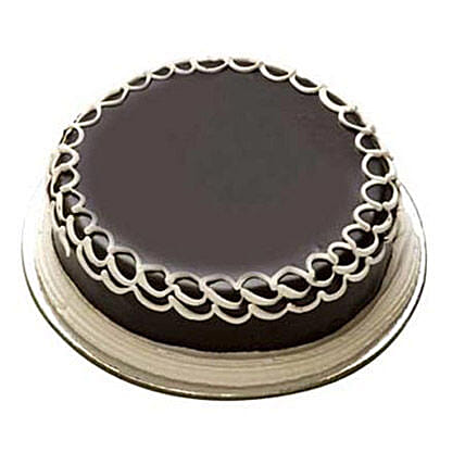 1Kg Chocolate Cake Eggless by FNP