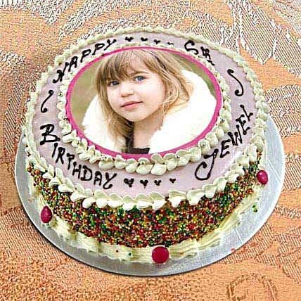 1kg Personalize Birthday Cake by FNP
