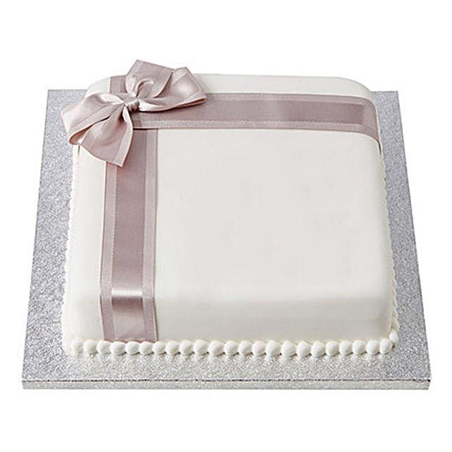 25th Year Fondant Cake Chocolate 1kg