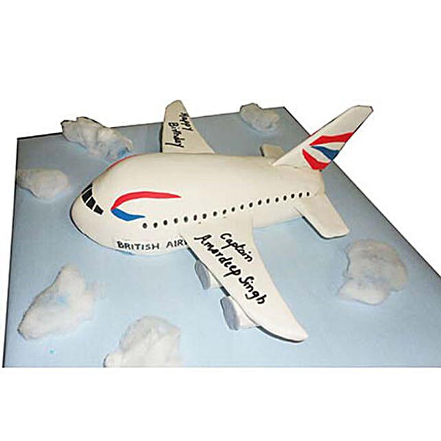 Airplane Cake 4kg Chocolate