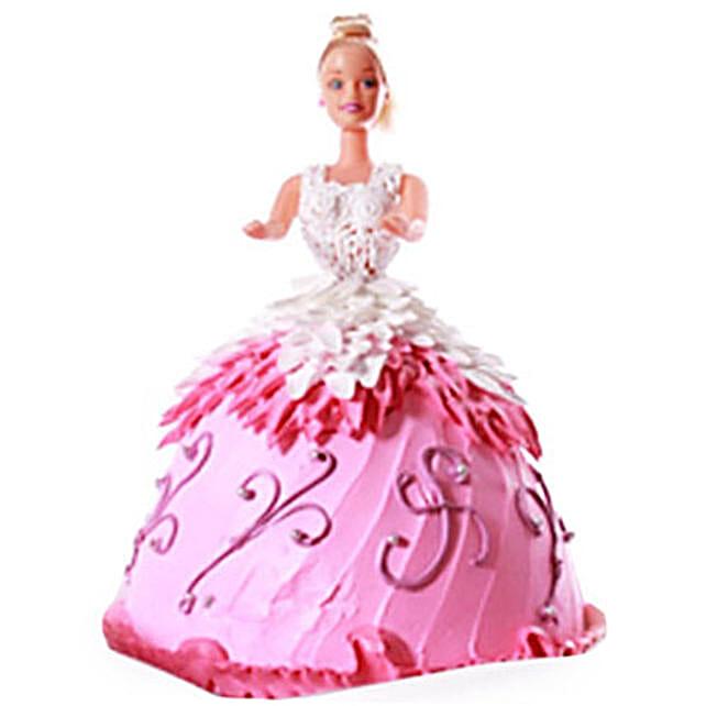 Baby Doll Cake 3kg Black Forest Eggless